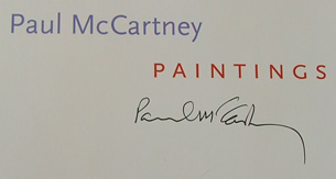 Paul McCartney Autograph